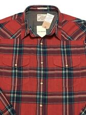 LUCKY BRAND Western Pearl Snaps Shirt Classic Fit Lumberjack Plaid NEW