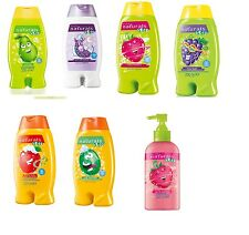 Avon Naturals Kids ~ Various Fruity Scented Shampoo & Conditioner Or Bubble Bath