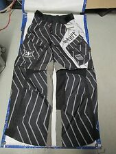 Shift Racing Motocross Squadron Riding Pants Black Pinstripe 04234 New In Stock