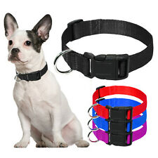 Nylon Puppy Dog Collars Durable for Small Dogs Teddy Chihuahua Yorkie 3 Sizes