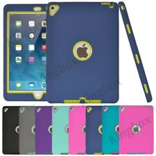New Kids Heavy Duty Shockproof Soft Silicone Protective Hard Case Cover For iPad