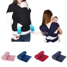 Baby Safety Mummy Baby Sling Backpack Wrap Carrier Front & Back Pack Many Ways