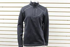 Women's Marmot 100 WT. Stretch Fleece Sunspot 1/2 Zip Black 88790 New With Tag