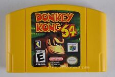 Nintendo 64 Games N64 Donkey Kong 64 RARE 1999 Video Tested Works with FREE SHIP