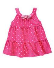 NWT Gymboree Girls Hop 'n Roll  Pink Polka Dot Bow Tank Size 12-18-24 2T 3T 4T