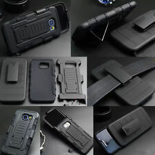 Shock Proof Anti-fall Break Heavy Duty Armor Tough Hard Case Cover With Belt Clp