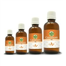 100% NATURAL CARDAMOM ESSENTIAL OIL (Aromatherapy) choose from 15ml to 250ml