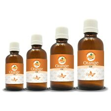 100% NATURAL ORANGE ESSENTIAL OIL (Aromatherapy) choose from 15ml to 250ml