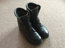 BRITISH ARMY ISSUE  BLACK GORETEX PRO/PARA/CADET BOOTS SIZE 8M