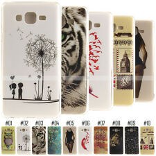 For Samsung Phones Luxury Back Case Soft Cover Gel Silicone Patterned TPU Skin