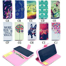 Magnetic card Wallet Leather Flip Case Cover For iPhone 6 4S 5 5S 5C 6 Plus