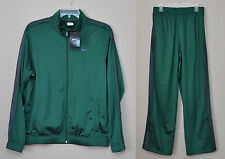 New Nike Practice Men's Gym Basketball Tracksuit Green Jacket & Pants SZ L XL