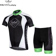 2016 New Mens Team Cycling Jerseys Top Short Sleeve Bike Bicycle Bib Shorts Suit