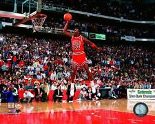 Chicago Bulls Michael Jordan 1988 Slam Dunk Contest NBA Basektball 8x10 Photo