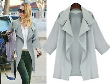 Fashion Women Coat Windbreaker Parka Outwear New Autumn Cardigan Loose Jacket