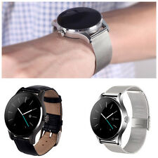 9.8mm 1.22''Smartwatch Watch Bluetooth Heart Monitor Pedometer For Android IOS