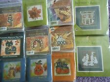 CHOOSE ONE: MILL HILL COUNTED GLASS BEAD/CROSS STITCH KITS   AUTUMN HARVEST