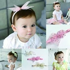 Princess Kids Girls Baby Hairband Infant Party Headband Hair Bow Hairwear Hot