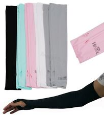 NEW Arm Cooling Sleeves Gloves UV Sun Protection Cover Golf Bike Cycling Sports