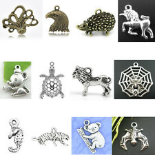 DIY Fashion Animal Theme Charm Pendants Breloque Jewelry Making Findings