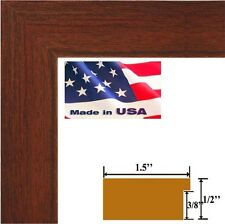 "Custom 1.5"" Cherry Maroon Solid Picture Picture Poster frame-Wall Decor Frames"