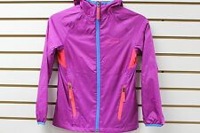 Marmot Girl's DriClime Wind Resistant Ether Hoody Beet Purple/Bright Pink 56190