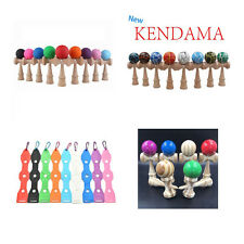 Kid Kendama Ball Japanese Traditional Wood Game Balance Skill Educational Toy ES
