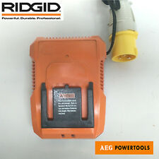 AEG Battery charger 110v site charger