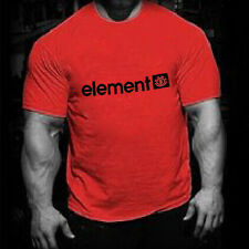 New Mens T Shirt Cotton Slim Fit Muscle Tops Short Sleeve Plain Crew Neck