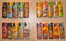 5 x Ed Hardy Lighters Refillable Torch Lighters brand new (Different Design)