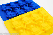 Lego Minifigure Silicone Ice Cube Cake Mold Tray Jelly Chocolate SHIP FROM USA