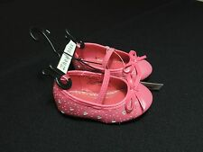 Baby/toddler Girl's Healthtex Dress Casual Shoes Ballet Flats Size 3,4,6 NEW!