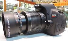 WIDE ANGLE 0.43x Fisheye & MACRO for CANON EF-S 18-55mm 55-250mm 70-300mm Lens