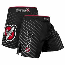 "Hayabusa Fighting Shorts "" Kasumi-S "" Black Fight Shorts MMA UFC BJJ Martial Art"