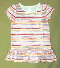 NWT Gymboree Girls Polar Pink Striped Swing Top Size 8 & 10