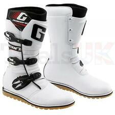 GAERNE Balance Trials Boots-White-Optional Coloured Accessories Available