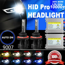 2x Conversion Kit HID Headlight Light Bulb Dual Beam Bi-Xenon 9007 DSV 55W Hi-Lo