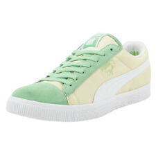 PUMA CLYDE X UNDEFEATED BALLISTIC CB SNEAKERS GREEN ASH WHITE 353920 01