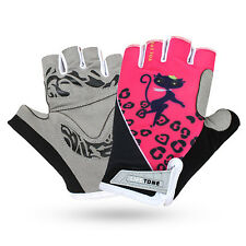 Cycling Gloves Bicycle Motorcycle Sport Gel Half Finger Gloves S- XL Size New