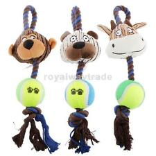 Plush Knot Cotton Rope Pet Dog Puppy Chew Exercise Play Fun Cute Toy YOUR CHOICE