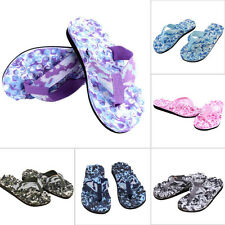 Women Men Summer Camouflage Flip Flops Shoes Beach Sandal Slipper Flip-flops New