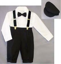 Just Darling  Boys 5Pc  Knicker Sets - Sizes: 6 mos - 8   (E029054#)