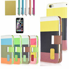 Luxury Magnetic Flip Cover Stand Wallet Leather Case For Apple iPhone 6S 6