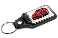 2012-13 Ford Mustang Car-toon Key Chain Ring Fob NEW