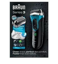 Braun Series 3 3080 Wet and Dry Electric Foil Shaver - Perfect Shave Skin New