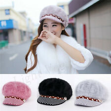 New Womens Ladies Winter Warmer Knitted Crochet Slouch Baggy Beanie Hat Cap 147X