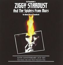 DAVID BOWIE 'ZIGGY STARDUST: MOTION PICTURE' 30TH ANNIVERSARY 2CD, POSTER + MORE