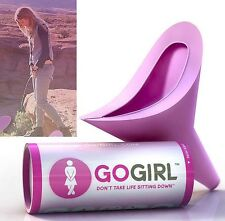 GoGirl /Go Girl Female Urination Device Woman Travel Stand Up Pee Urinal Case