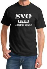 1985 Ford SVO Mustang American Muscle Car Classic Design Tshirt NEW FREE SHIP
