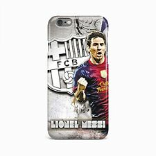Barcelona Lionel Messi Football Hard Case Cover iPhone 4 4S 5 5S 6S 6 plus iPod